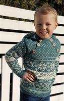 Garnpakke Snøhetta anorakk barn