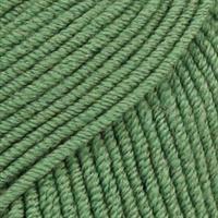 Merino Extra fine - 0031 Skogsgrønn MIX 50 gr