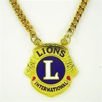 G732 - Lion Emblem Medallion