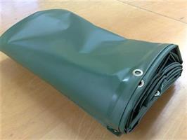 Presenning 4x6m grön 680g/m2