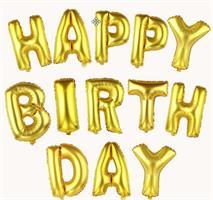 Folie - Happy Birthday / gull