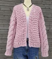 Popkorn jakka, mønster
