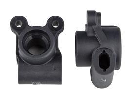 RC10B6.2 FT Rear Hubs, carbon
