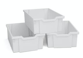 Plastback/mellan vita 3st