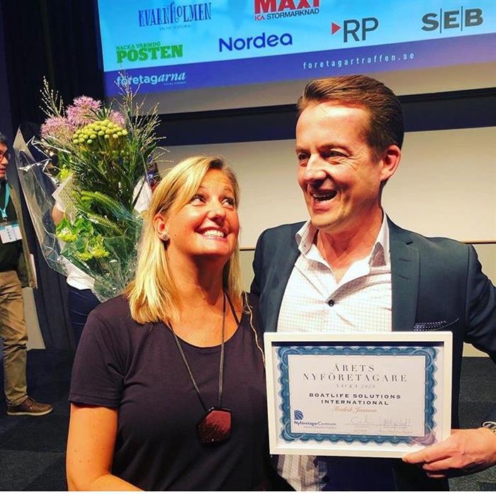 "Boatlife Solutions International was crowned last week as ""New Entrepreneur of the Year"""