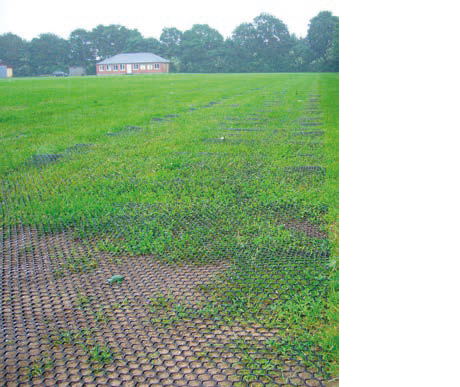 Markarmering gräsytor