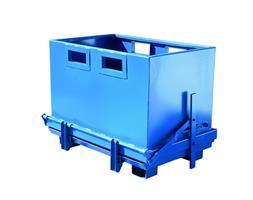 BTC1000 - Bunntømt container