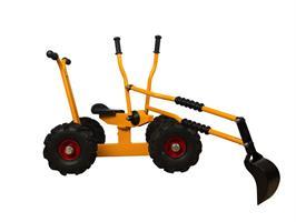 Rabo Moon-Car grävmaskin på 4 hjul