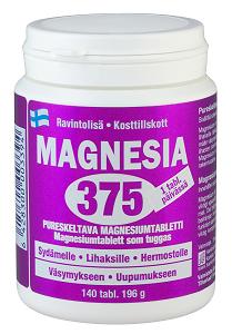 Magnesia 375 140 tabl.
