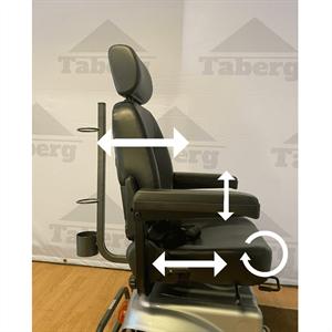 Taberg ST099 promenadscooter grå
