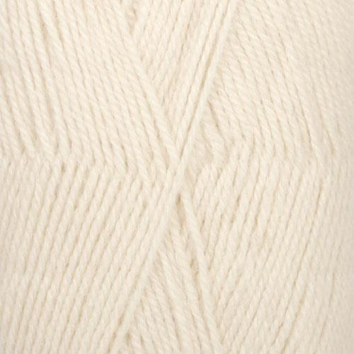 Flora - 0001 Natur/Off white 50 gr