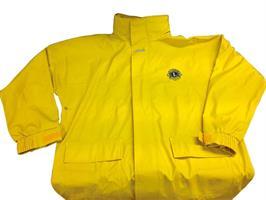 MD gul regnjacka L