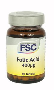 Folsyra 400mcg 90tab.FSC