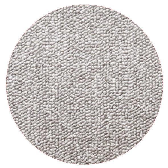 Montessorimatta öglerad Ø 350 cm Silver