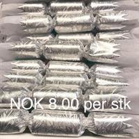 Kransekakepynt m/ krone sølv