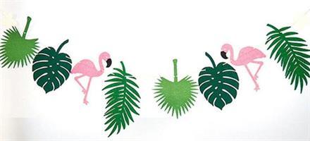 Banner Flamingo