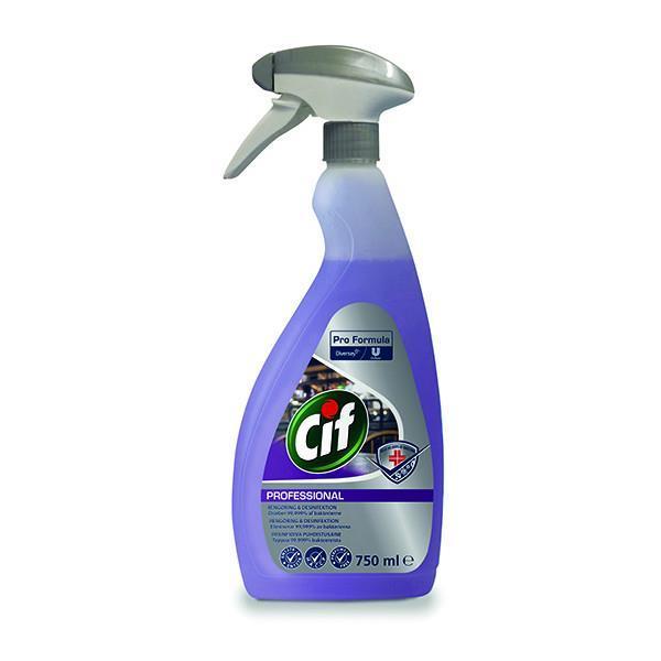 Cif Professional 2in1 desinfioiva puhdistusaine 750ml