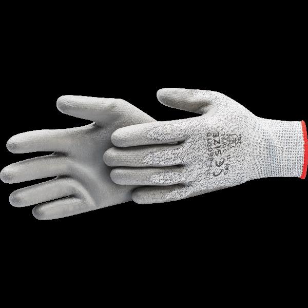 Handske Grå Varm XL