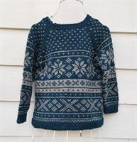 Garnpakke Snøhetta genser, barn