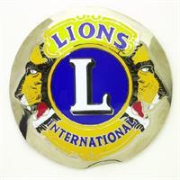 Grill auto emblem