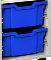 Plastback / Blå mellan