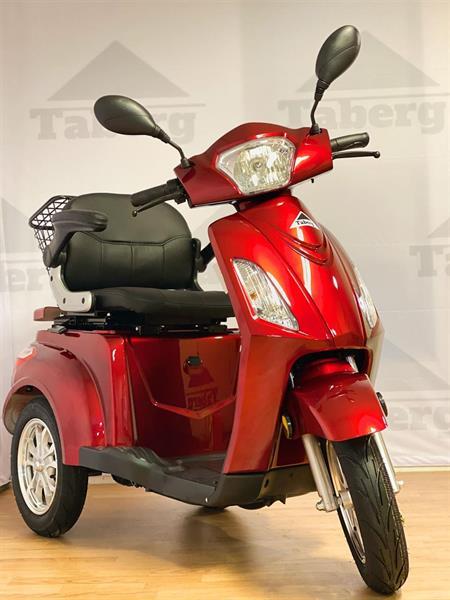 Taberg T408-1 promenadscooter röd