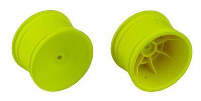 Buggy Rear Hex Wheels, 2.2 in/12 mm, yellow
