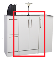 Utnäs - Sorteringsmodul 4x23L 60x49x110cm