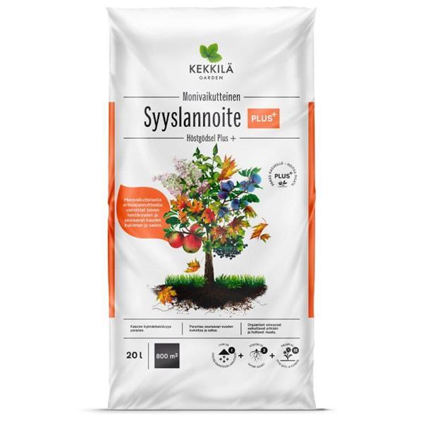 Kekkilä Syyslannoite PLUS 20L