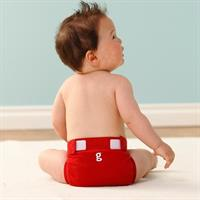 gDiapers tøybleie Good Fortune Red XL