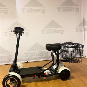 Taberg DDT077 promenadscooter vit litiumbatteri