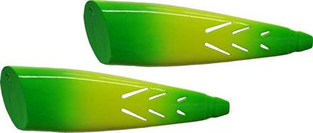 SUPER BAIT CUT PLUG 2P LEMON LIME