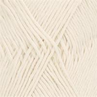 Cotton Light - 0002 Hvit 50 gr