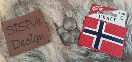 Tilbehør Norsk strikkeanorakk,