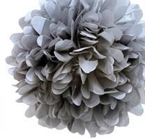 Pom Poms - Gray 20 cm