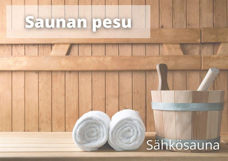 Saunan pesu (3-5hlö)