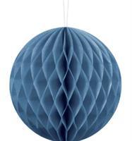 20 cm Honeycomb Navy blå